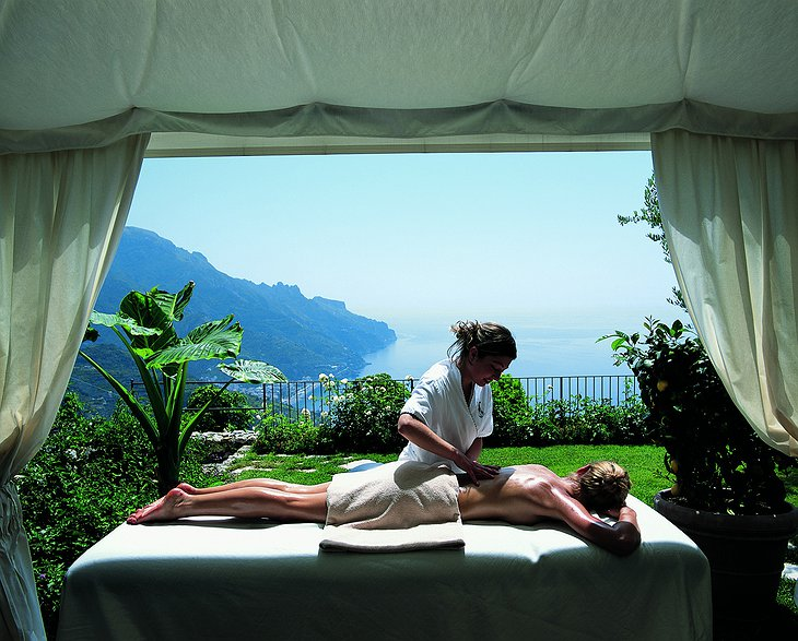 Hotel Caruso massage