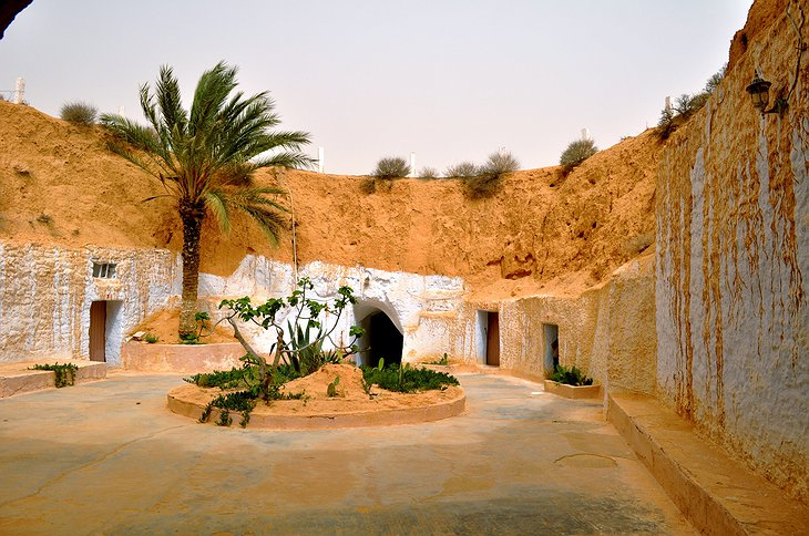 Hotel Sidi Driss caves
