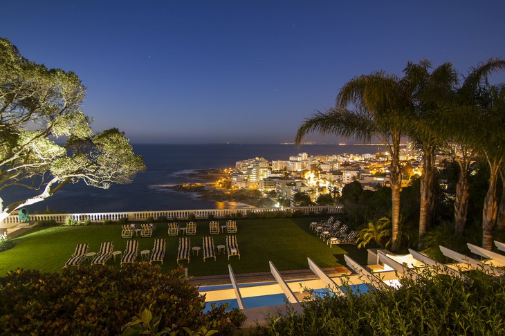 Ellerman House terrace