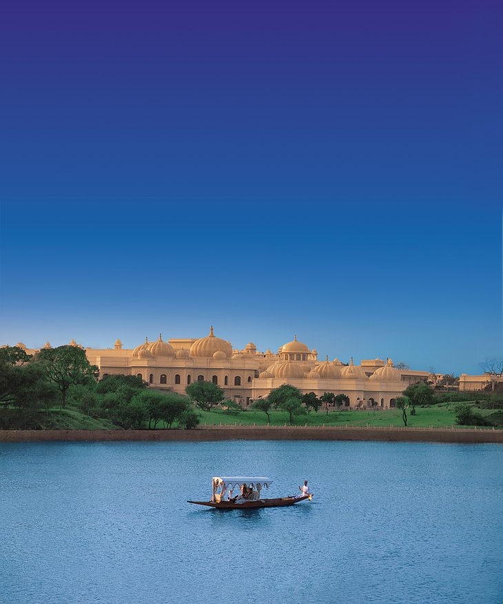 The Oberoi Udaivilas on Lake Pichola