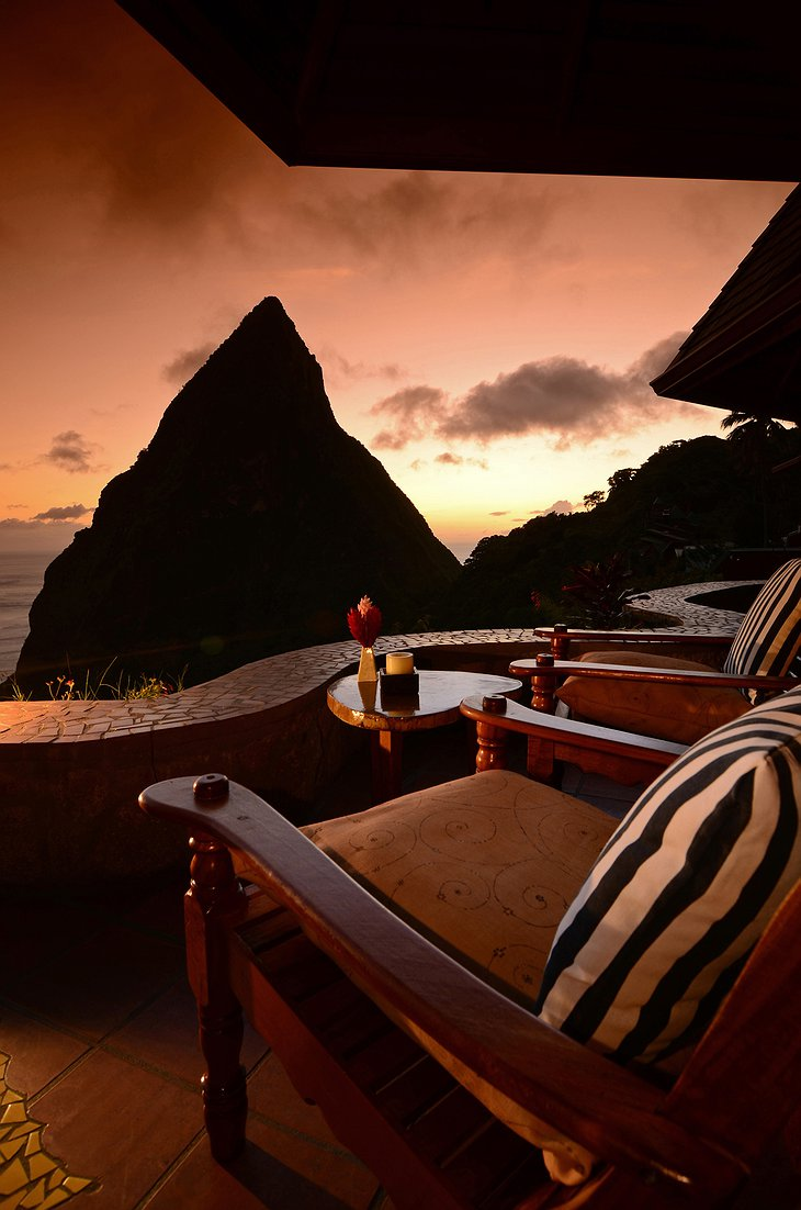 Ladera Resort sunset