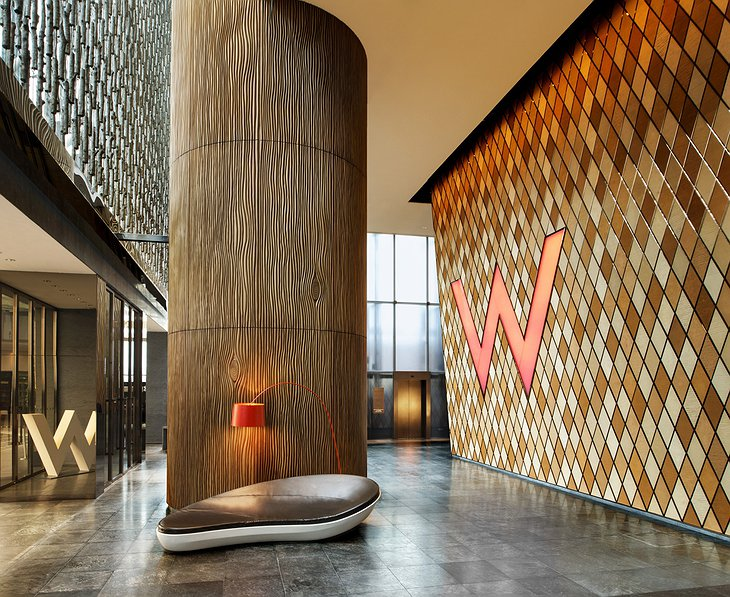 W Hotel Hong Kong public area entrance