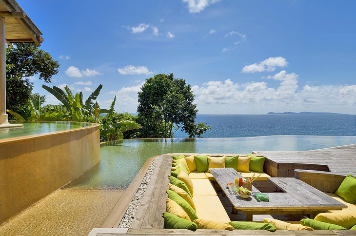6BR Private Cliff Pool Reserve Sunken Seating