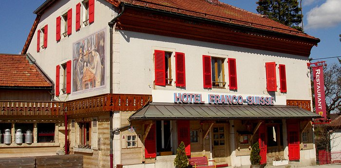 Hotel Arbez - A hotel with half in Switzerland and half in France