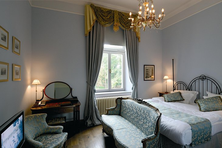 Chateau Mcely Europe double deluxe room