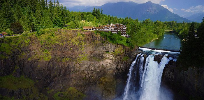 Salish Lodge & Spa - Hotel From The Twin Peaks TV Show