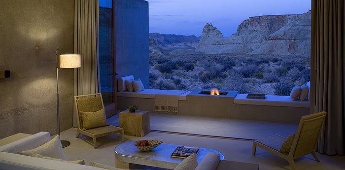 Amangiri Villas - Paleolithic Skyscrapers In A Constellation-Swirled Sky