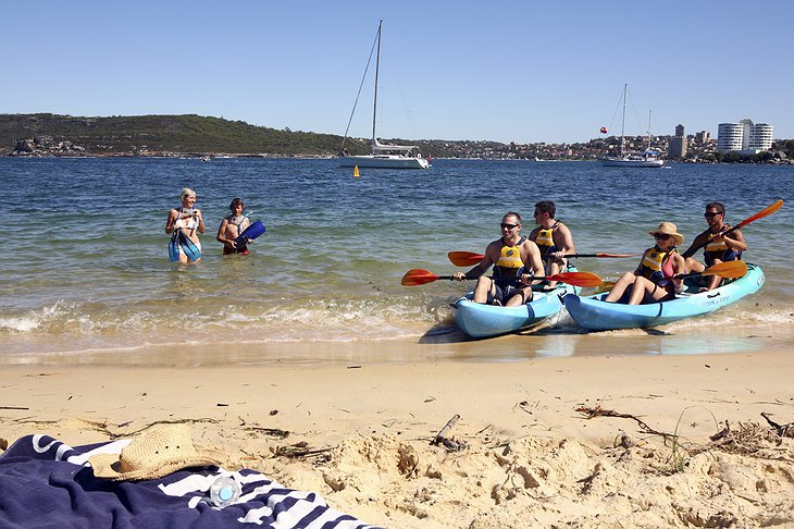 Sydney Harbour National Park beach