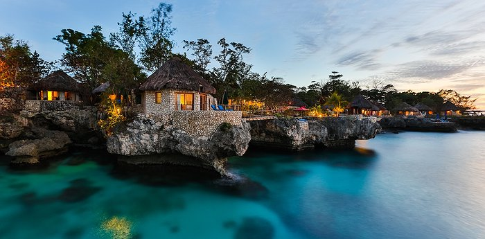Rockhouse Hotel - Cliffside Thatched Roofed Villas In Negril
