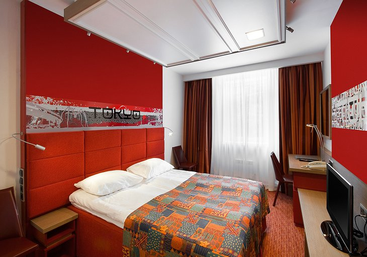 Red Stars Hotel room