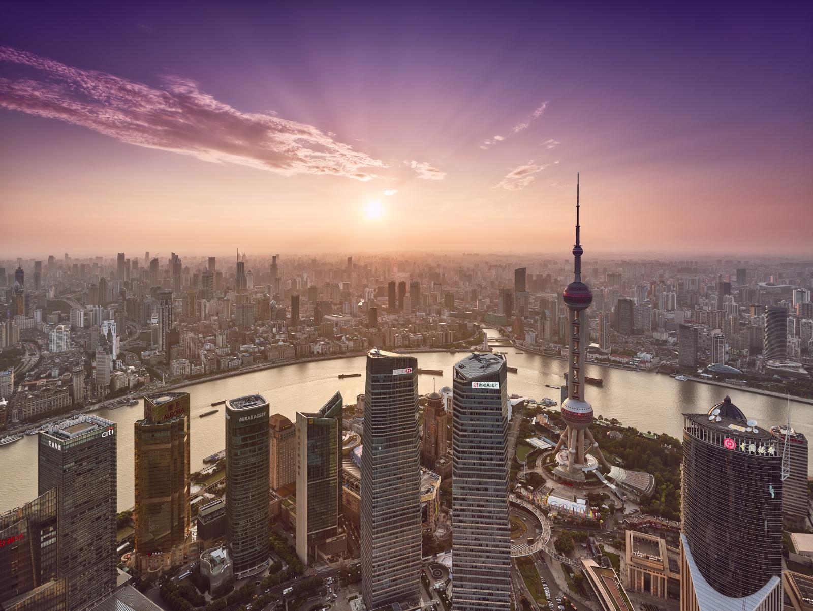 Grand Hyatt Shanghai One Of The Highest Hotel In The World