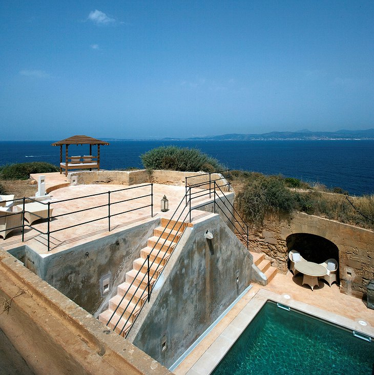 Cap Rocat suite with private pool