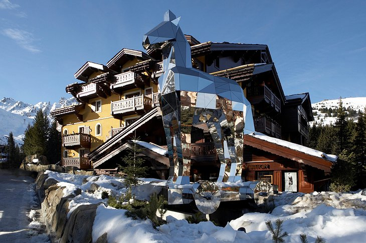 Cheval Blanc Courchevel hotel