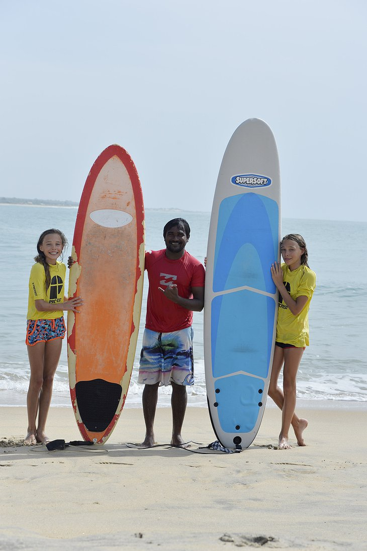 Elephant Road Resort surf training for kids