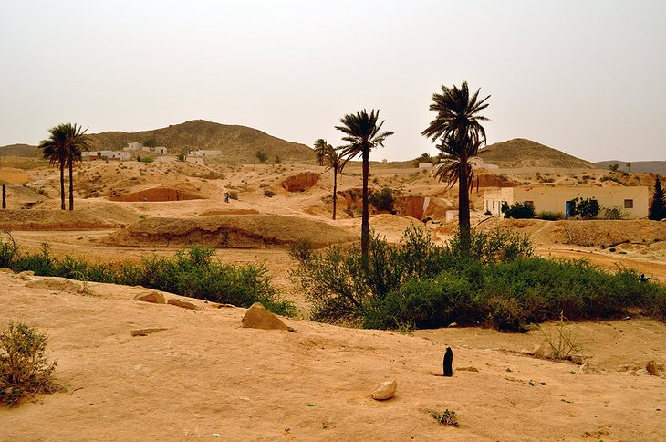 Hotel Sidi Driss in the desert
