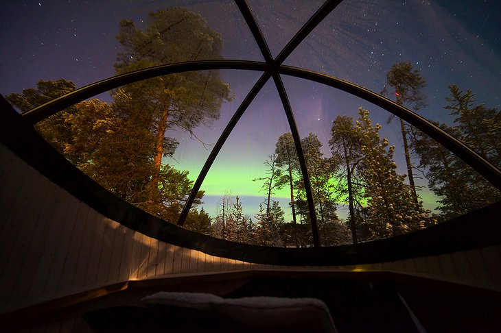 Nellim Wilderness Hotel Aurora Bubble