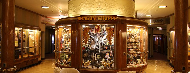 Queen Mary Hotel Dragon Shoppe
