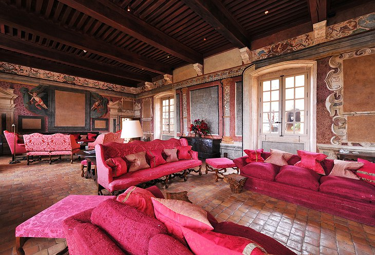 Chateau de Bagnols Grand Salon