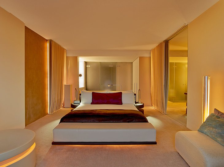 Cozy Room at W Barcelona Hotel