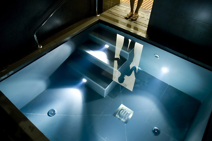 Finca Cortesin Hotel spa jacuzzi
