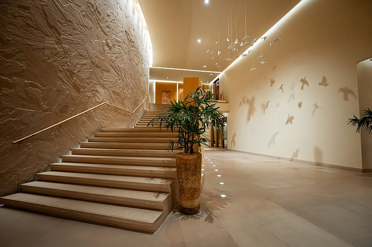 Vana Retreat Interior Staircase