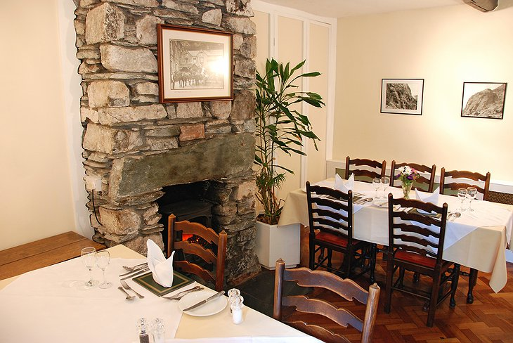 Old Dungeon Ghyll restaurant