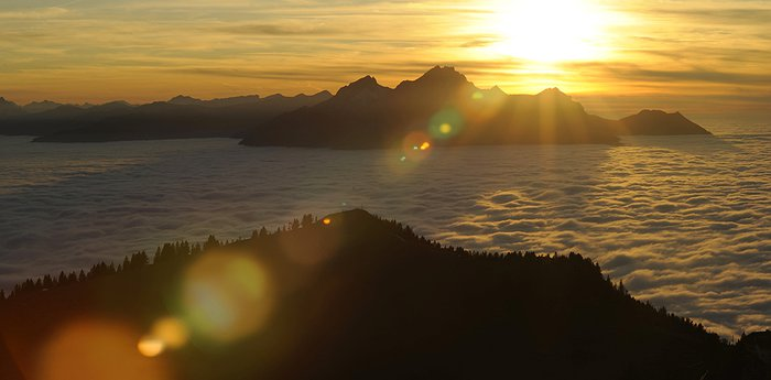 Rigi-Kulm Hotel - A sunrise to melt your eyes
