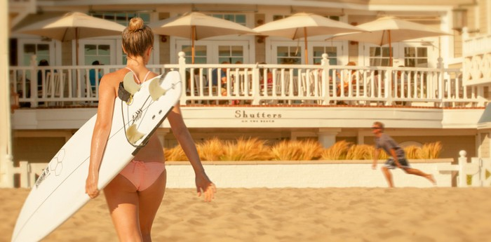 Shutters on the Beach - American dream at the Ocean