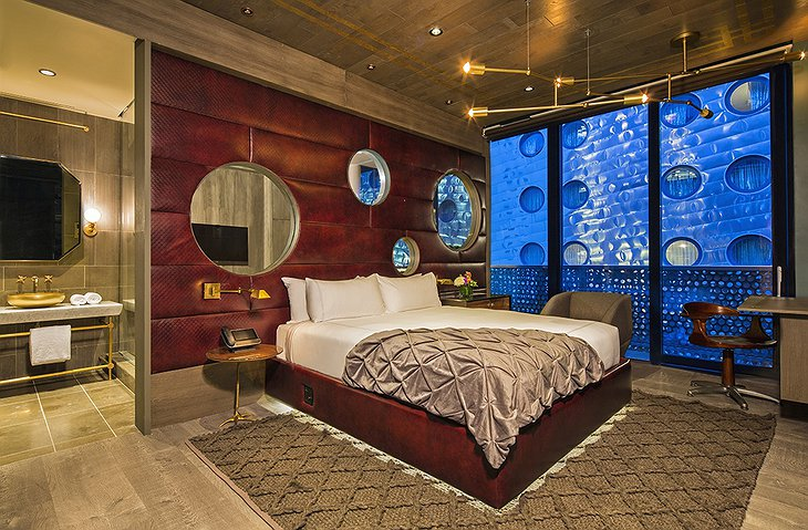 Dream Downtown presidential suite bedroom