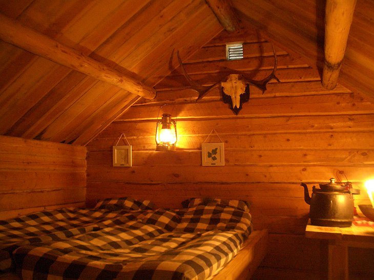 Interior of Kolarbyn Eco Lodge