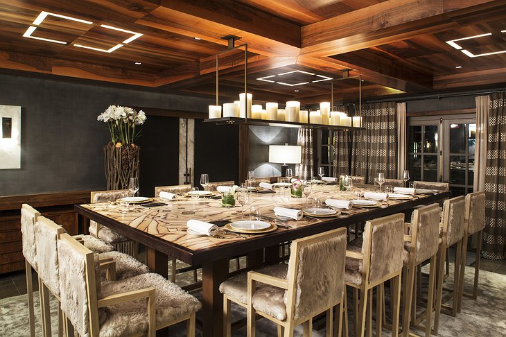 Cheval Blanc Courchevel restaurant