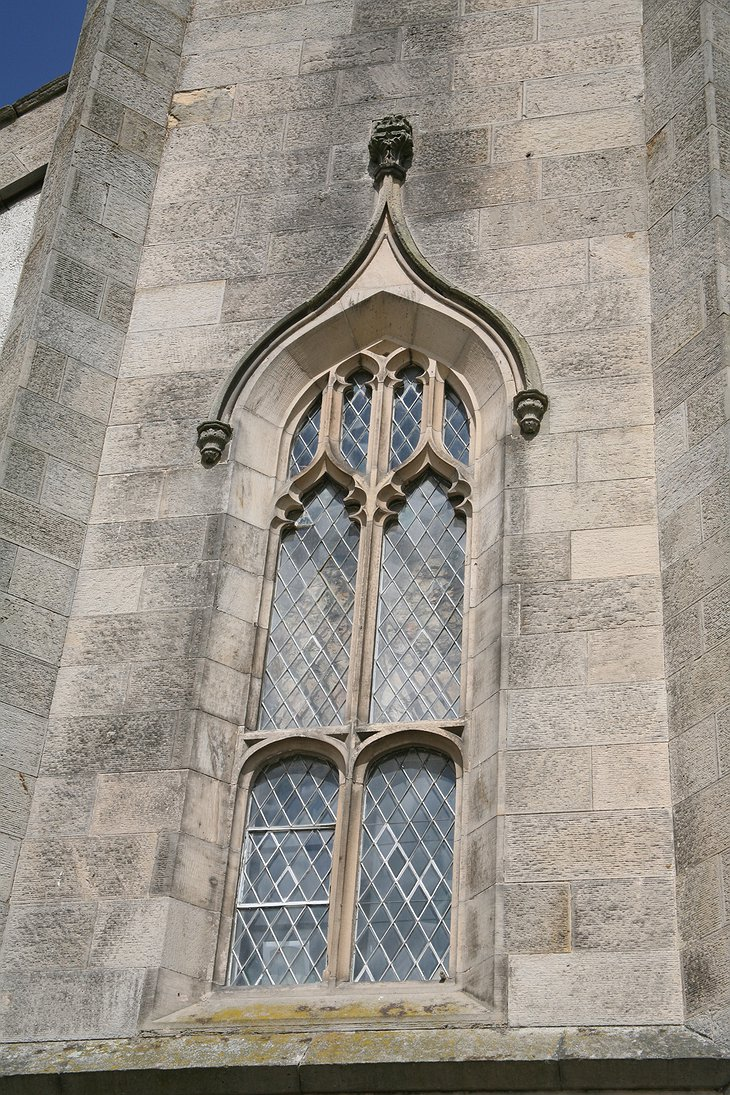 The Old Church of Urquhart facade details