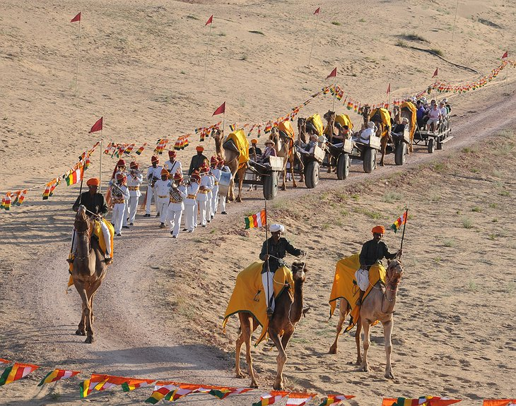 Camel festival in Rajasthan