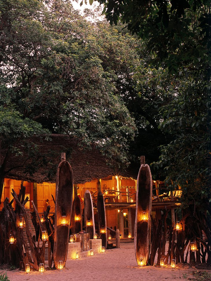 Boma at &Beyond Lake Manyara Tree Lodge