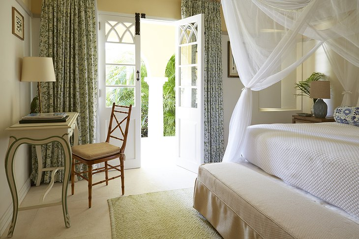 Mustique Island villa bedroom