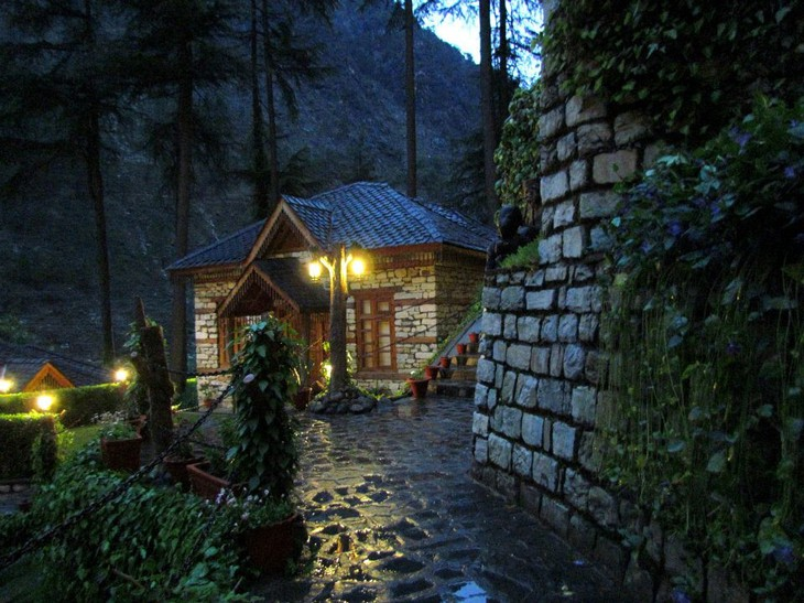The Himalayan Village Resort cottages