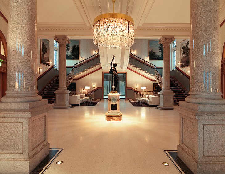 The Dolder Grand Hotel grand entrance