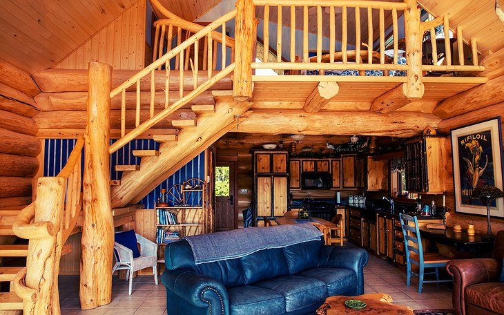 The Chilko Experience Wilderness Resort living room