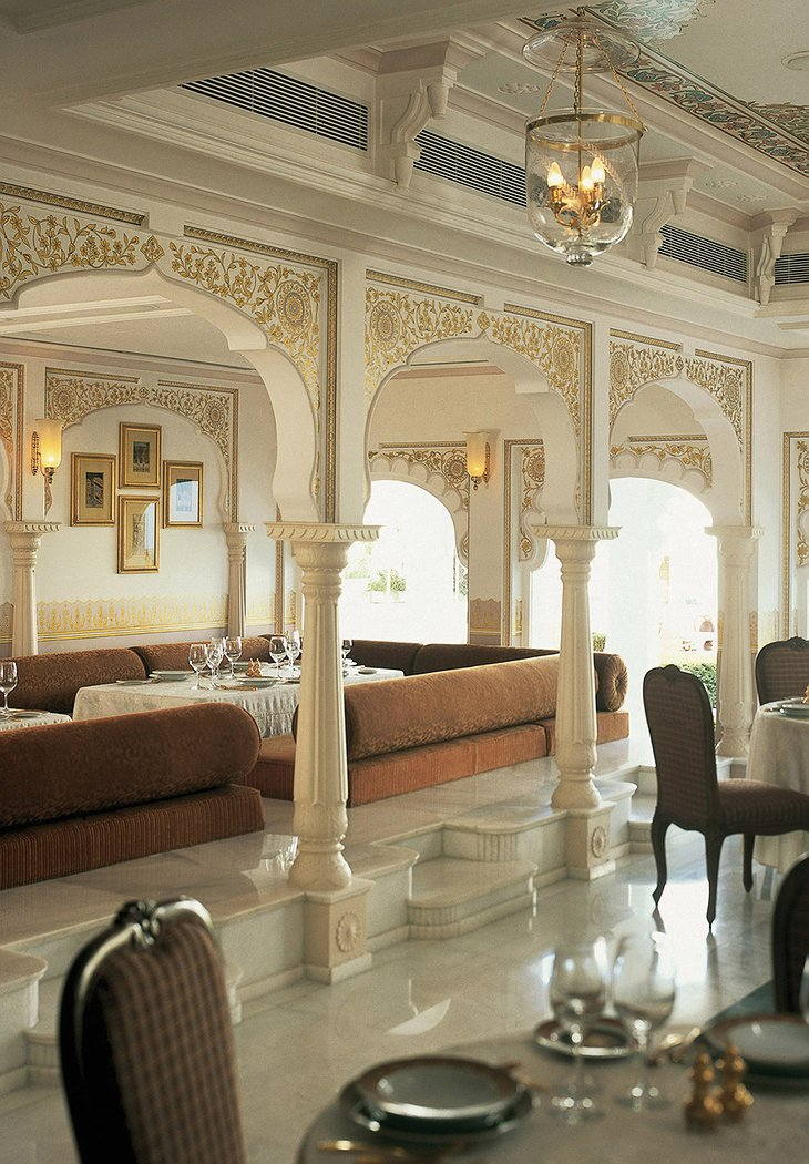 Lake Palace Hotel restaurant