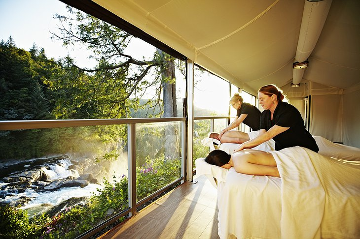 Salish Lodge Terrace Spa