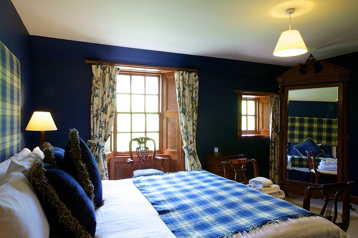 Tulloch Castle Hotel double room