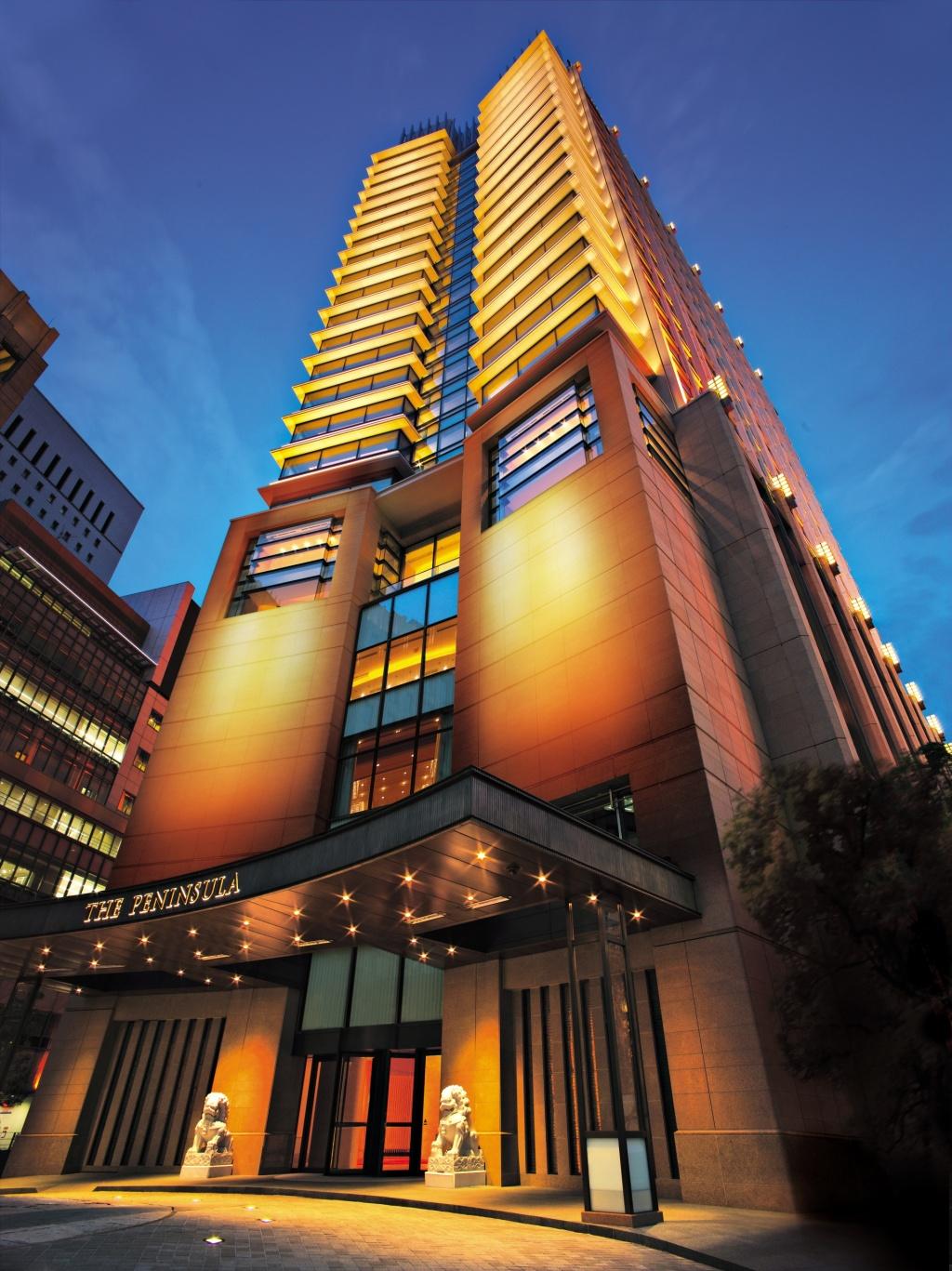 Peninsula hotel tokyo for Hotels japon