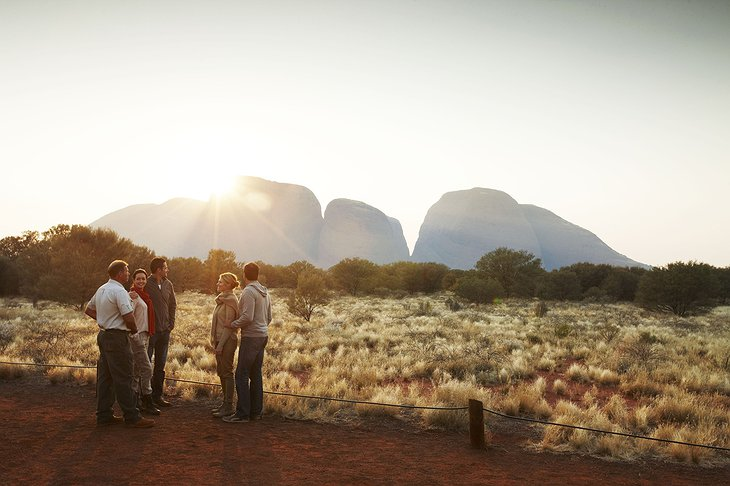 Trekking in the outback