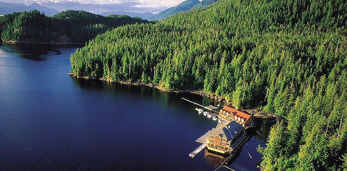King Pacific Lodge - Luxurious Floating Barge In The Great Bear Rainforest