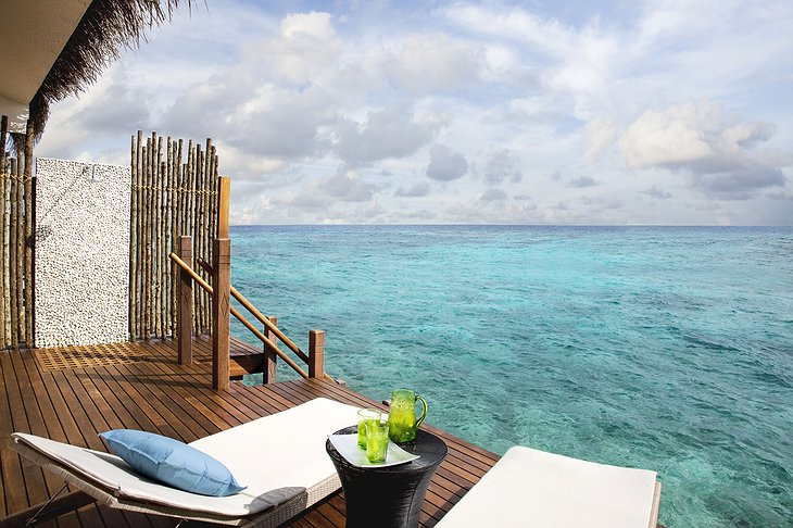 Vivanta By Taj - Coral Reef water villa deck