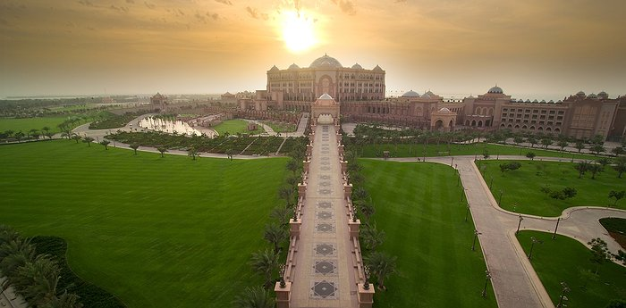 Emirates Palace - 7-Star Luxury In Abu Dhabi