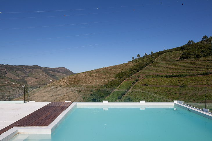 Quinta De Casaldronho pool on the rooftop with nature views