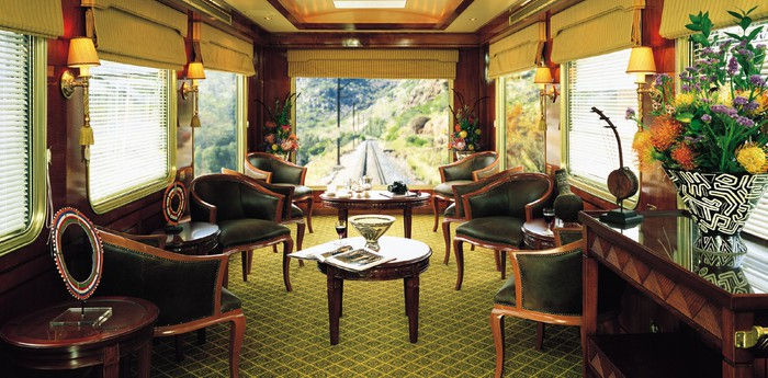The Blue Train - The most luxurious train