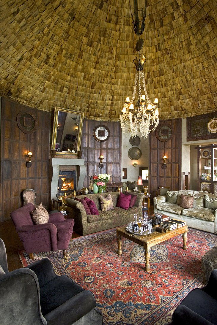 Ngorongoro Crater Lodge interior