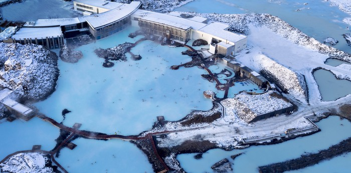 Blue Lagoon Iceland - Silica Hotel in the heart of the lava landscape